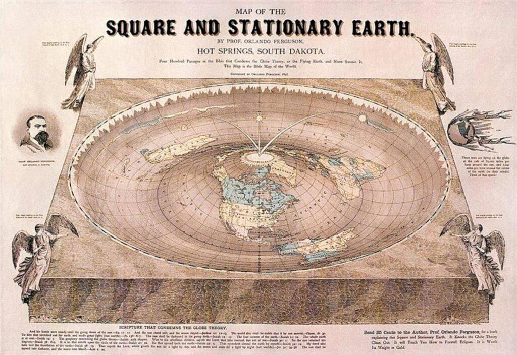 misurazione della Terra piatta
