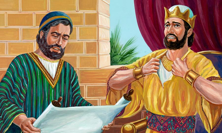 Giosia e la profetessa Ulda
