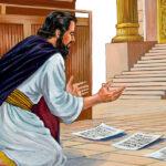 Dato un segno tramite un re d'Israele